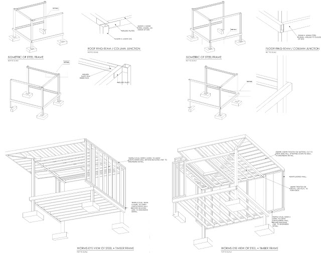 modern architectural drawings. 3d Drawings Of Contemporary And Modern Garden Room Edinburgh Architect Architectural