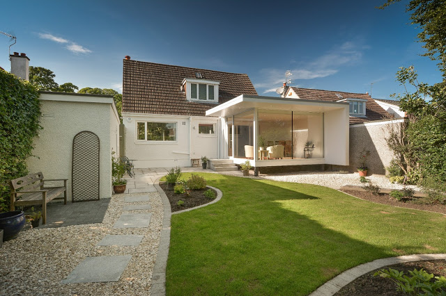 Modern architecture with a minimalist price tag for Modern garden rooms