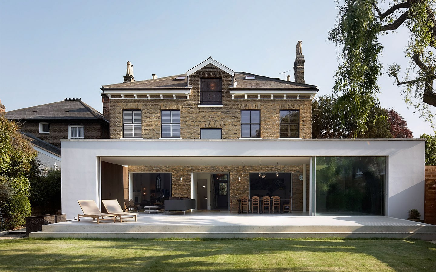 Contemporary house extensions architecture with a capital a for Extension moderne
