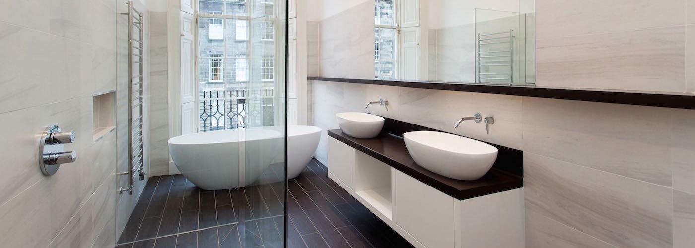 Contemporary Bathroom Nelson Street Edinburgh