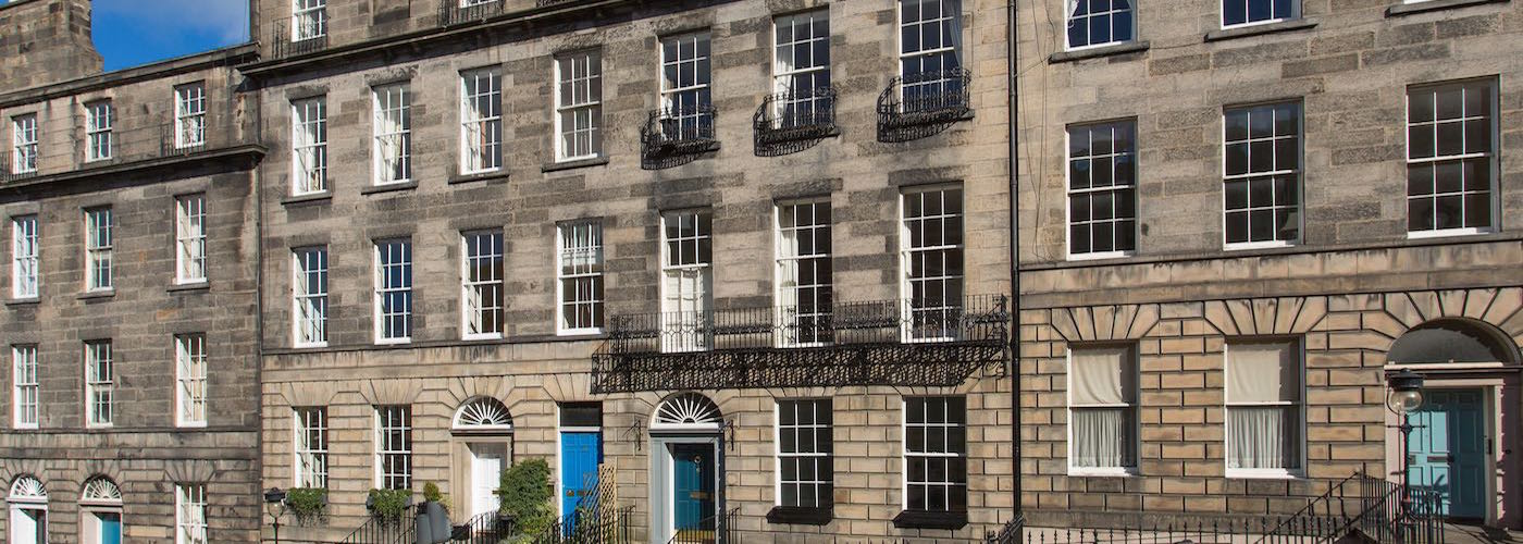 Street View of Category A Listed Georgian Property in Edinburgh New Town